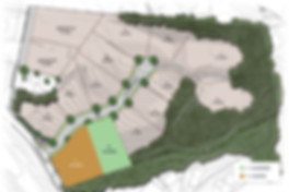 Map-of-Camargo-Ridge,-a-luxury-custom-home-community-in-Madeira-School-District