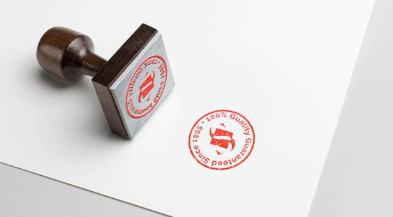logo stamp design for concrete company i