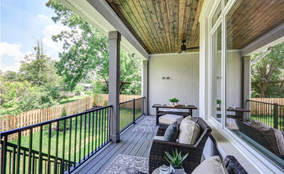 Covered Patio | Custom Ranch Townhome Living | The Villas Of Montgomery Ohio
