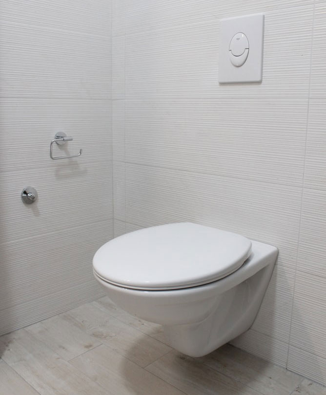 Adding water efficient toilets can be surprisingly effective at lowering utility costs for your new custom home