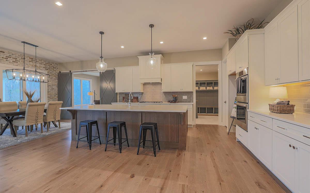 Gourmet Kitchen | Custom Ranch Model Home For Sale | Kensington of Mason Ohio