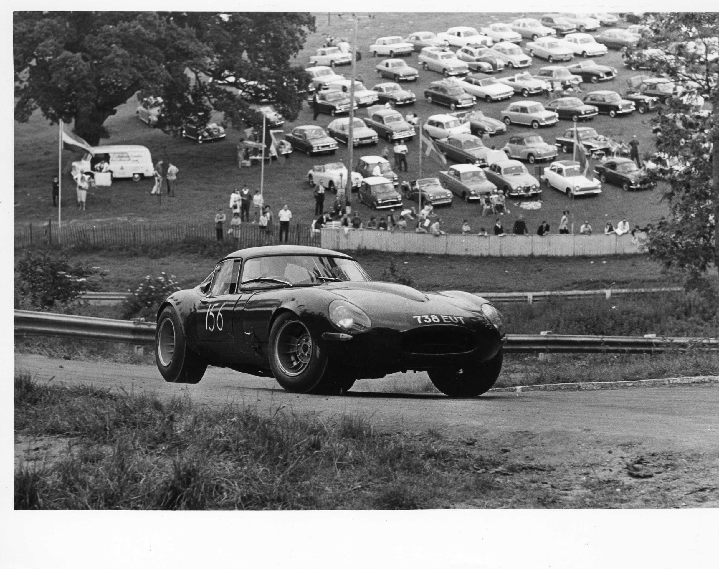Mike Wright, Low Drag E Type Prescot 16 june 1968.jpg
