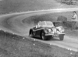 Mike Wright, Jaguar XK120.jpg