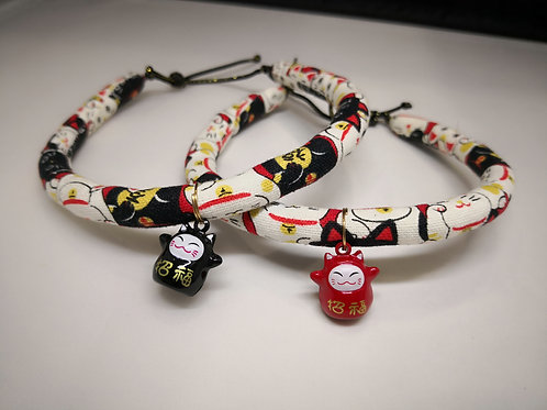 Fortune Cat Collar