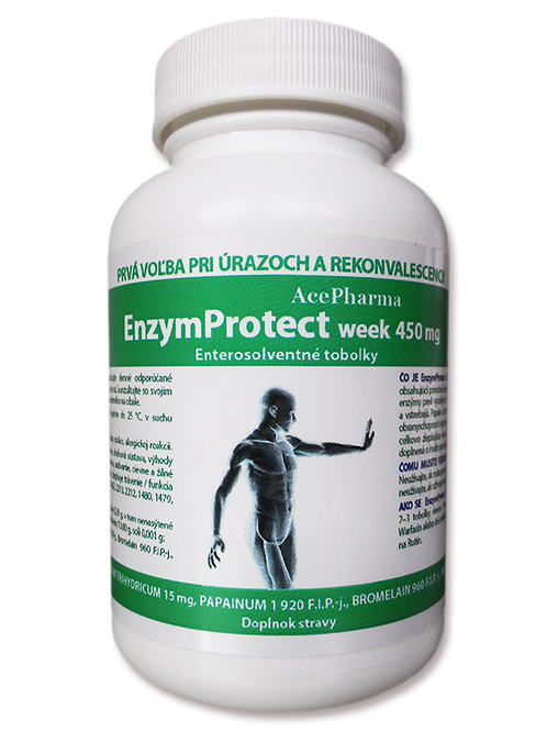 EnzymProtect WEEK ent cps 40X450mg