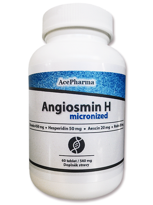 Angiosmin H micronized 60X540mg tbl.