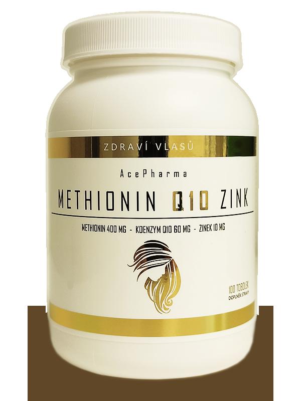 METHIONIN Q10 ZINK 400/60/10mg