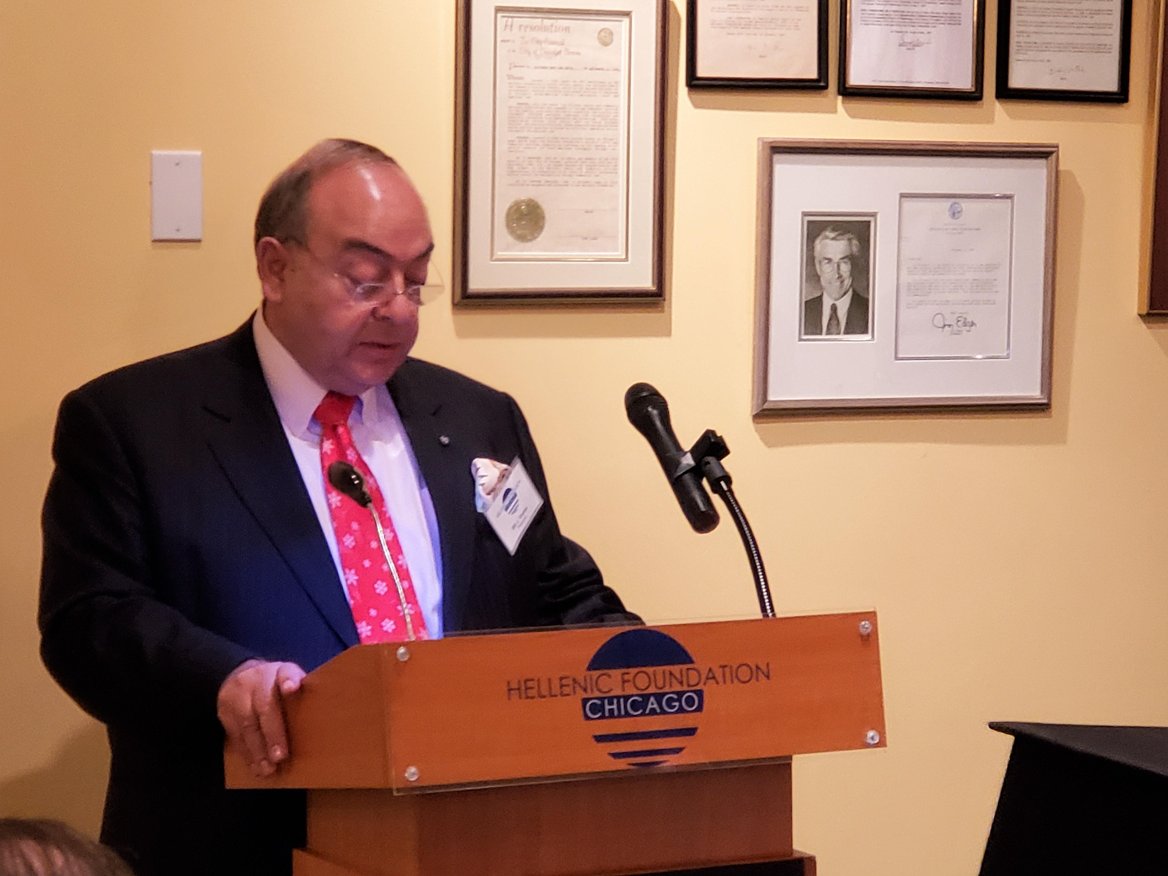 Bill J. Vranas, Treasurer