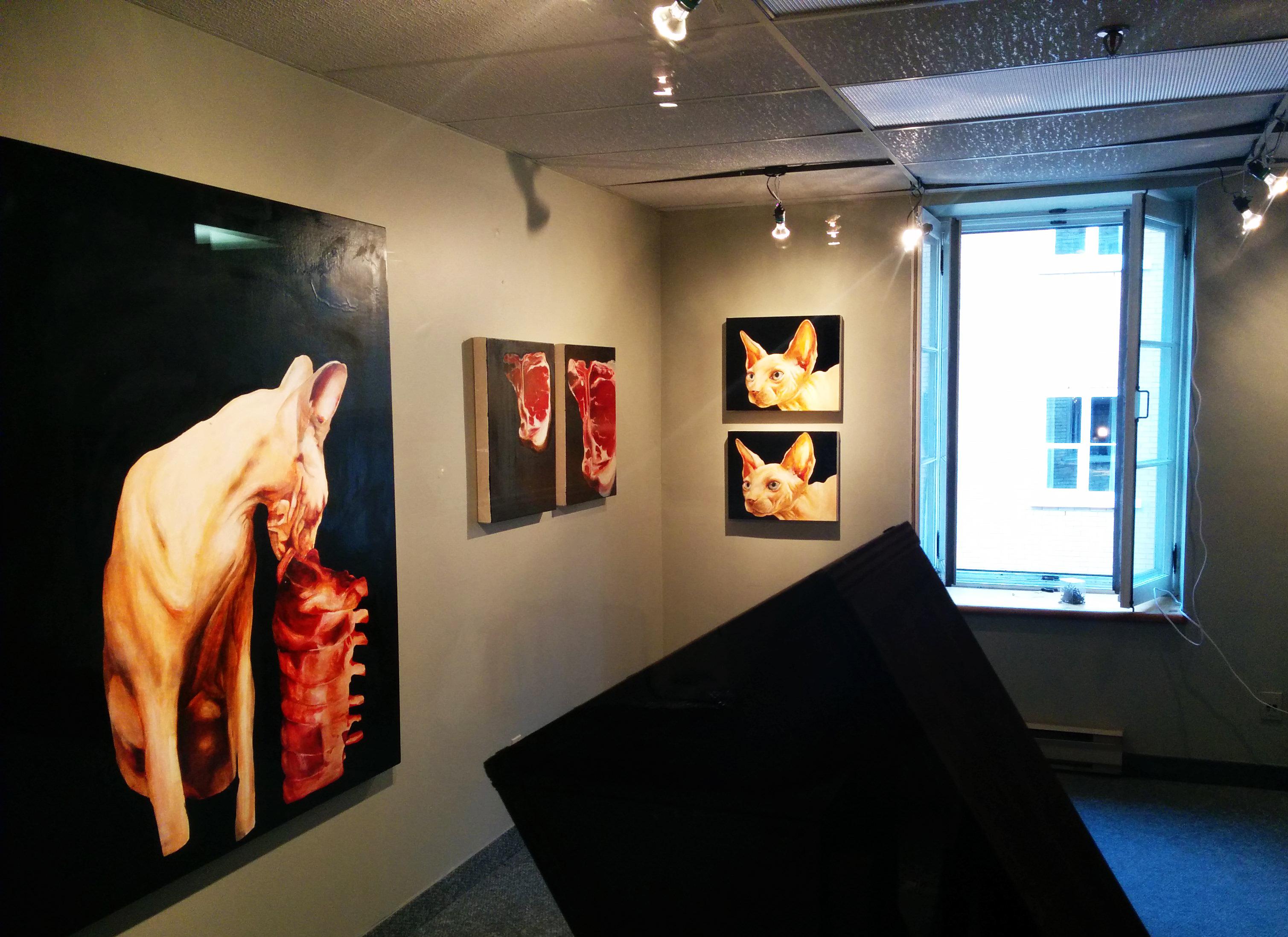 catherine mcinnis art viande peintre