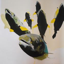 saumons amélie bédard art