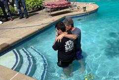 Justin Baptism August 2019