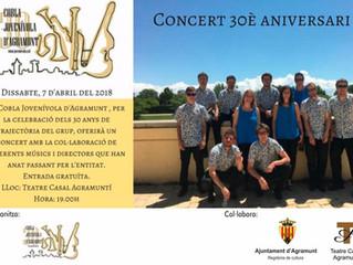 Concert 30è anivesari de la Cobla