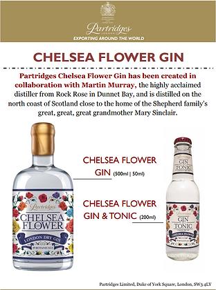 Partridges Chelsea Flower Gin Bottles.PN