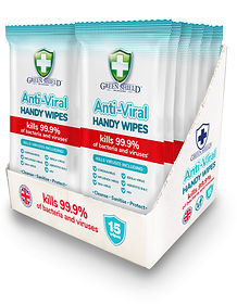 GreenShield Anti-Viral handy wipes SRP (