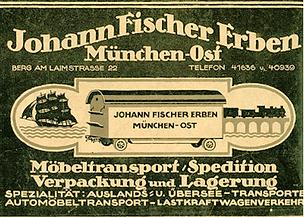 Spedition München Geschichte