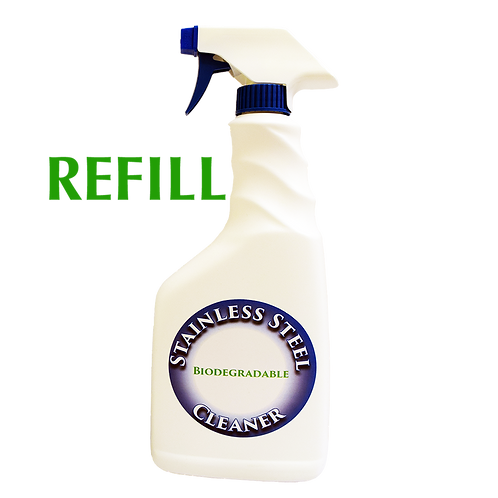Biodegradable Stainless Steel & Polisher 24 oz Refill