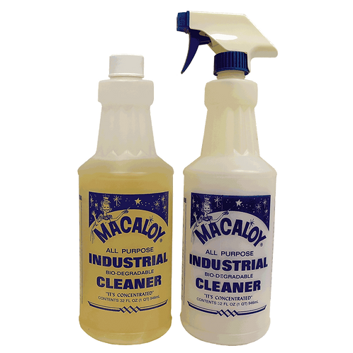 32oz Biodegradable All Purpose Sanitizing Concentrate Cleaner w/ Spray Bottle