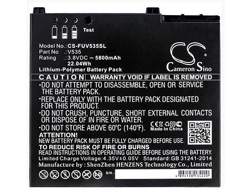 Fujitsu Stylistic V535 Spare Battery