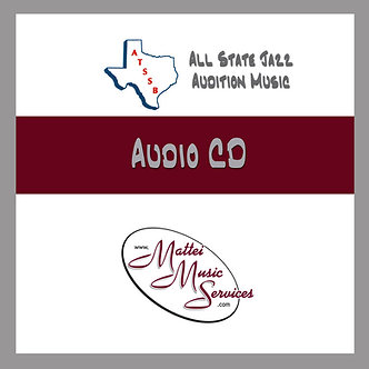 ATSSB All State Jazz Audio CD, Set E