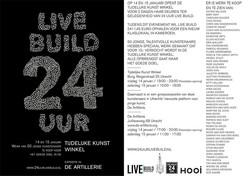 Live Build, Temporary art 24h