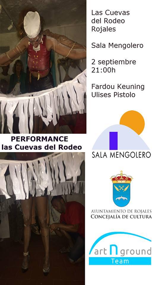 Performance con Ulises Pistolo