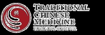 Traditional chinese medicine healing center logo