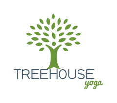 Treehouse yoga logo in Bay St Louis, Mississippi