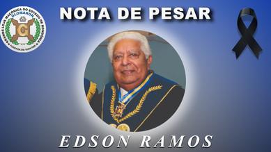 Nota de Pesar: Ir. Edson Ramos