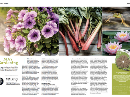 My May Gardening Tips in Places & Faces Magazine