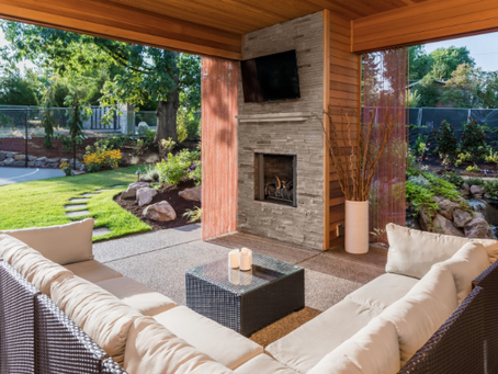 Using your garden as an extension of your home