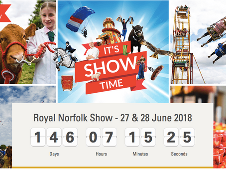 It's Norfolk Show Time!