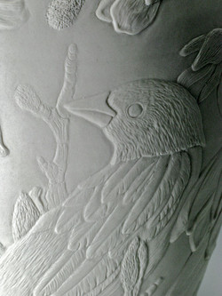 Detail-Magnolia & Tanager