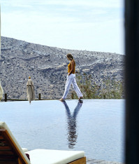 Pool Area, Alila Jabal Akhdar