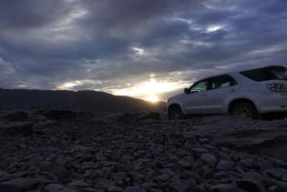 Jebel Shams Sonnenaufgang