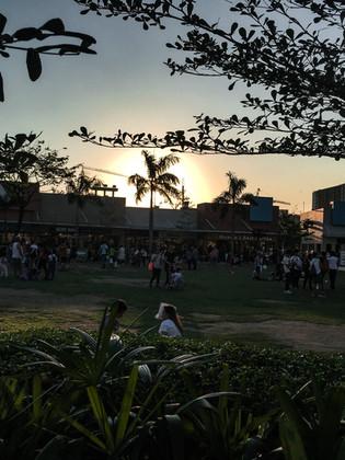 At a Park, Manila