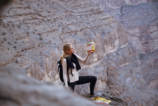 Jebel Shams, Proviant