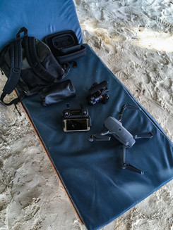 Equipment at the Beach