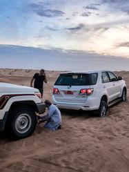 Wüsten-Panne
