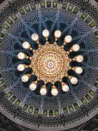 Kronleuchter Moschee