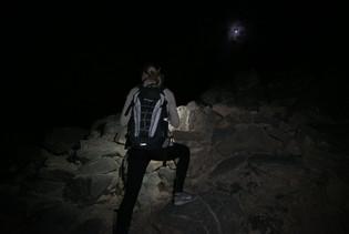 Jebel Shams, Rückweg