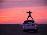 Sonnenuntergang Toyota