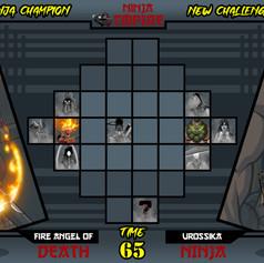 Ninja Empire - Select Screen