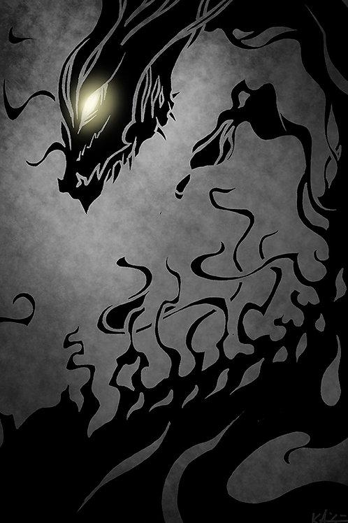 Shadow Dragon PRINT