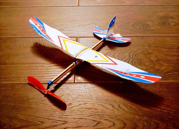 Самолёт на жгутовом двигателе
