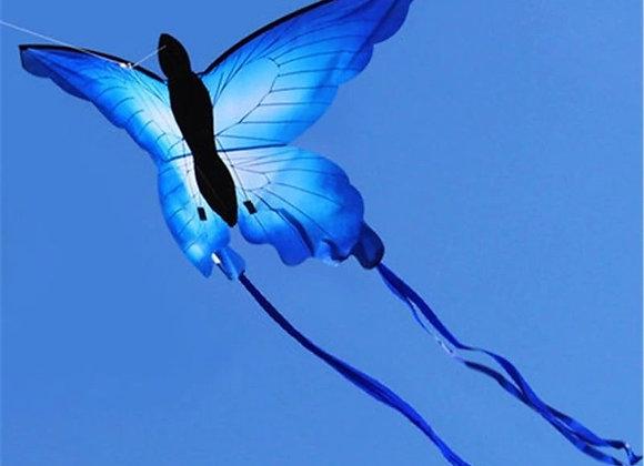 Воздушный змей Бабочка Синий Махаон