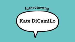 Interviewing Kate DiCamillo