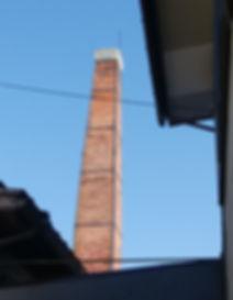 赤煉瓦煙突、ボイラー