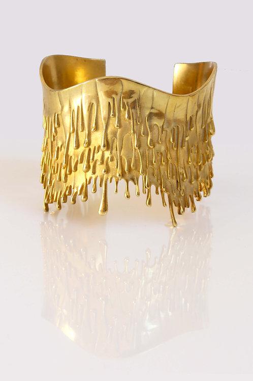 Level 8: 18k Gold Gravity Armband und Gemälde
