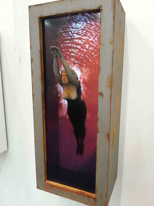 MARCK, Der Sprung, twice 84cm x 33cm x 36cm, Edition of 8 +AP