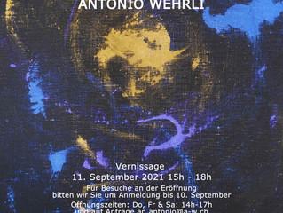"""Galaxy Gravity"" exhibition on September 11 by Antonio Wehrli"